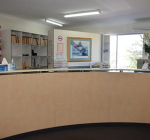 Newport Medical Centre Reception Area